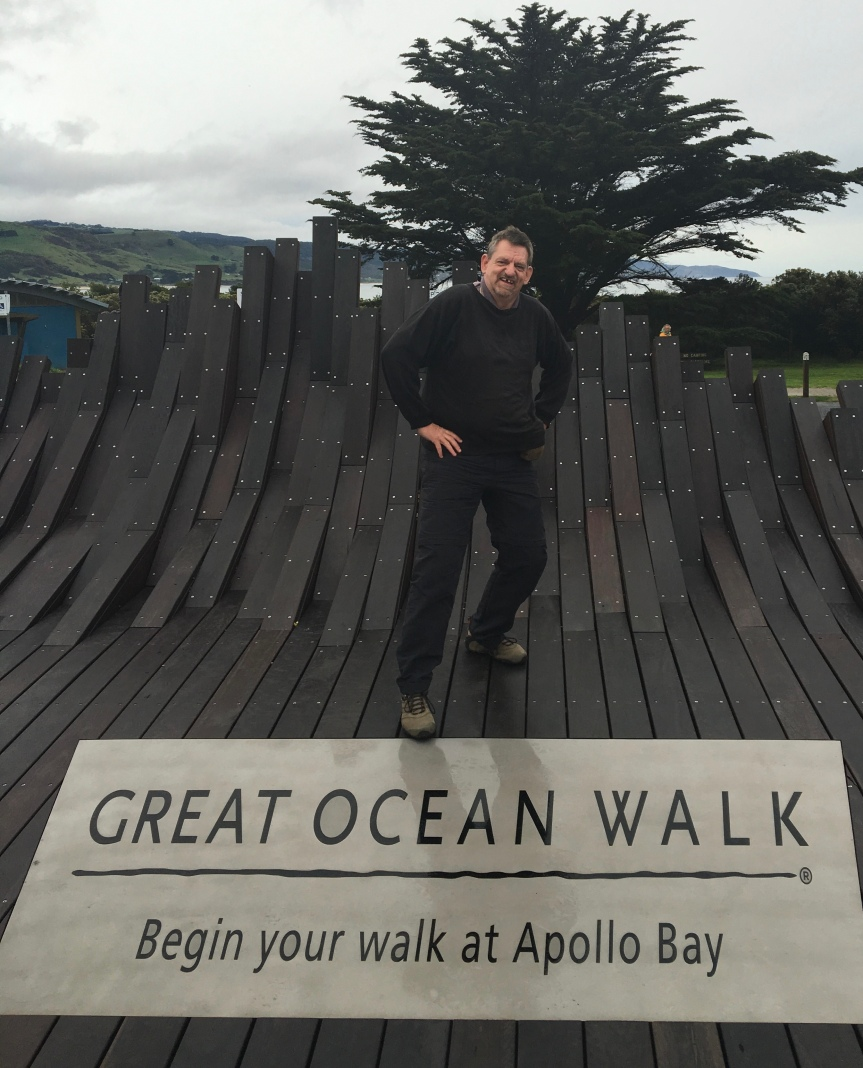 First day on Great Ocean Walk